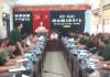 Ban chỉ đạo diễn tập tỉnh Nam Định họp triển khai nhiệm vụ diễn tập năm 2018.