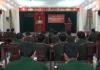 Bộ CHQS tỉnh Nam Định gặp mặt động viên Quân nhân chuyên nghiệp nhận nhiệm vụ tăng cường cho các đơn vị đang gặp khó khăn về nhân viên chuyên môn.