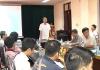 Đài PT-TH Nam Định tổ chức lớp tập huấn nâng cao kỹ năng sản xuất chương trình truyền hình cho phóng viên, kỹ thuật viên và cộng tác viên trong Đài.