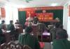 Đảng bộ LLVT tỉnh Nam Định chỉ đạo 100% các chi bộ trực thuộc Đảng bộ cơ sở tổ chức thành công Đại hội chi bộ nhiệm kỳ 2017- 2020.