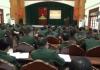 Đảng ủy Bộ đội biên phòng tỉnh tổ chức hội nghị học tập, quán triệt Nghị quyết Hội nghị lần thứ 8 Ban chấp hành Trung ương Đảng khóa XII