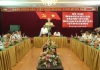 Đoàn kiểm tra của Bộ chính trị do đồng chí Trương Hòa Bình - Ủy viên Bộ chính trị, Phó thủ tướng thường trực chính phủ làm trưởng đoàn đã có buổi làm việc với Ban thường vụ tỉnh ủy Nam Định