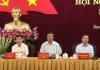 Hội nghị cán bộ chủ chốt của tỉnh để thực hiện quy trình nhân sự phục vụ Đại hội đại biểu Đảng bộ tỉnh lần thứ XX, nhiệm kỳ 2020 – 2025.