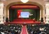 Hội nghị cán bộ chủ chốt của tỉnh nghe thông tin tình hình thời sự trong nước và quốc tế.