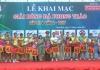 Lễ khai mạc giải bóng đá phong trào cúp Truyền hình Nam Định lần thứ 2 năm 2017.