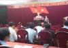 Tiểu ban tổ chức phục vụ Đại hội đảng bộ tỉnh lần thứ XX, nhiệm kỳ 2020-2025 tổ chức hội nghị triển khai kế hoạch công tác.