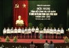 Tỉnh uỷ Nam Định tổ chức hội nghị tổng kết công tác xây dựng tổ chức cơ sở Đảng trong sạch, vững mạnh 5 năm ( 2010-2015).