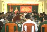 Giao ban thực hiện chương trình phối hợp chỉ đạo công tác tư tưởng - văn hóa trong lực lượng vũ trang tỉnh
