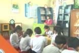 Hiện nay toàn tỉnh có hàng trăm thư viện trường học đạt chuẩn quốc gia. Trong đó, riêng bậc tiểu học có khoảng 300 thư viện đạt chuẩn.