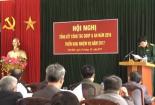 Hội đồng giáo dục quốc phòng- an ninh huyện Trực Ninh tổng kết nhiệm vụ giáo dục quốc phòng- an ninh năm 2016 và triển khai nhiệm vụ năm 2017.
