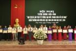 """Huyện Trực Ninh tổ chức hội nghị tuyên dương điển hình """" học tập và làm theo tư tưởng, đạo đức, phong cách Hồ Chí Minh"""" và khen thưởng giáo viên giỏi, học sinh giỏi năm học 2017-2018."""