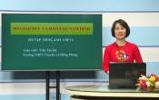 Dạy học trên truyền hình: Ôn tập kiến thức Anh Văn 12 ( 21/04/2020 )