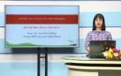 Dạy học trên truyền hình: Ôn tập kiến thức Anh Văn 12 - TOPIC: WORD STRESS ( 11/04/2020 )