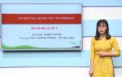 Dạy học trên truyền hình: Ôn tập kiến thức Địa lý 9 - Chuyên đề: Ngành kinh tế Việt Nam _ Phần tiếp ( 28/03/2020 )