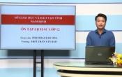 Dạy học trên truyền hình: Ôn tập kiến thức Lịch Sử 12 - HƯỚNG DẪN ĐỀ THAM KHẢO 2020 ( 29/04/2020 )