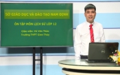Dạy học trên truyền hình: Ôn tập kiến thức Lịch Sử 12 - HƯỚNG DẪN ĐỀ THAM KHẢO 2020 _ Phần tiếp ( 03/05/2020 )