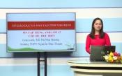 Dạy học trên truyền hình: Ôn tập kiến thức Tiếng Anh 12 - TOPIC: EDUCATION ( 05/04/2020 )