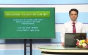 Dạy học trên truyền hình: Ôn tập kiến thức Toán 12- Chuyên đề: HƯỚNG DẪN ÔN TẬP THEO ĐỀ THAM KHẢO NĂM 2020_PHẦN HÌNH HỌC ( 22/04/2020 )
