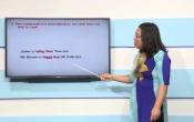 Dạy học trên truyền hình: Ôn tập môn Tiếng Anh lớp 9 - Sự so sánh của tính từ ( 09/03/2020 )