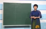 Dạy học trên truyền hình: Ôn tập Phương trình vô tỷ ( 04/03/2020 )