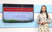 Dạy học trên truyền hình: Ôn tập Tiếng Anh 9 ( 03/03/2020 )