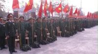 Các huyện và thành phố Nam Định đồng loạt tổ chức lễ giao nhận quân năm 2017.