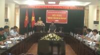 Đoàn đại biểu Quốc hội tỉnh Nam Định tổ chức lấy ý kiến đóng góp vào dự thảo Luật Thủy sản sửa đổi, dự kiến thông qua tại kỳ họp thứ tư, Quốc hội khóa XIV.