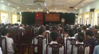 Đoàn đại biểu quốc hội tỉnh tiếp xúc cử tri các huyện Xuân Trường, Giao Thủy và Hải Hậu.