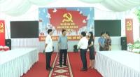 Đồng chí Bí thư Tỉnh ủy kiểm tra công tác tuyên truyền, trang trí khánh tiết chuẩn bị cho Đại hội Đại biểu Đảng bộ tỉnh Nam Định lần thứ XX, nhiệm kỳ 2020 – 2025.
