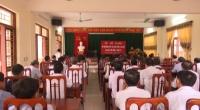 Hội đồng giáo dục quốc phòng – an ninh huyện Trực Ninh tổ chức bế giảng lớp bồi dưỡng kiến thức Quốc phòng – An ninh đối tượng 3 năm 2017.