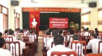 Hội đồng giáo dục quốc phòng và an ninh huyện Trực Ninh khai giảng lớp bồi dưỡng kiến thức quốc phòng an ninh cho đối tượng 3 năm 2017.