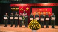 """Hội nghị sơ kết 5 năm phong trào thi đua """"Ngành Hậu cần Quân đội làm theo lời Bác Hồ dạy"""" giai đoạn 2015 – 2020."""