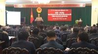Hội nghị tập huấn đánh giá công tác phòng, chống tham nhũng cấp tỉnh năm 2018 và nghiệp vụ công tác xử lý vi phạm hành chính.