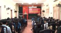 Hội nghị tập huấn pháp luật về bảo vệ môi trường và nghiệp vụ công tác công đoàn cho cán bộ công đoàn cơ sở.