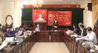 Hội nghị xây dựng và triển khai kế hoạch tuyên truyền cuộc bầu cử đại biểu Quốc hội khóa XV và đại biểu Hội đồng nhân dân các cấp nhiệm kỳ 2021 – 2026.