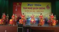 Huyện Hải Hậu tổ chức hội diễn văn nghệ quần chúng