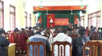 Huyện ủy Mỹ Lộc khai giảng lớp trung cấp lý luận chính trị- hành chính hệ không tập trung K62.B2 khóa VIII- niên khóa 2018-2019.