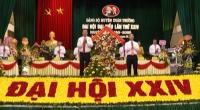 Khai mạc Đại hội đại biểu Đảng bộ huyện Xuân Trường lần thứ XXIV, nhiệm kỳ 2020 – 2025
