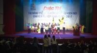 Lễ bế mạc cuộc thi tài năng trẻ sân khấu kịch nói toàn quốc năm 2017.