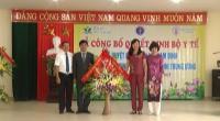 Lễ công bố quyết định của Bộ y tế phê duyệt bệnh viện Nhi Nam Định là bệnh viện vệ tinh của bệnh viện nhi TW.