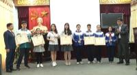 Lễ tổng kết và trao giải thưởng cuộc thi sáng tạo thanh thiếu niên nhi đồng tỉnh Nam Định lần thứ 6 – 2018