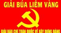 Thể lệ Giải báo chí toàn quốc về xây dựng Đảng ( Giải Búa liềm vàng )