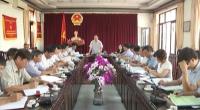 Thường trực HĐND tỉnh giám sát chuyên đề về công tác phòng, chống thiên tai và ứng phó với biến đổi khí hậu giai đoạn 2014-2018 trên địa bàn huyện Nghĩa Hưng.