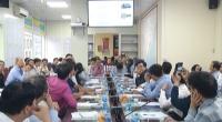 Tổng cục phòng, chống thiên tai - Bộ Nông nghiệp &Phát triển nông thôn tổ chức tập huấn nâng cao năng lực văn phòng thường trực Ban chỉ huy phòng chống thiên tai và tìm kiếm cứu nạn cấp tỉnh.