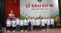 Trường Đại học Điều dưỡng Nam Định tổ chức Lễ khai giảng năm học 2018-2019
