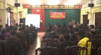 UBND huyện Hải Hậu tổ chức hội nghị bàn giao Trang thông tin điện tử cho 27 xã, thị trấn trong huyện.