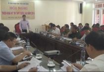 Ban chỉ đạo thi THPT quốc gia năm 2018 – tỉnh Nam Định tổ chức họp triển khai kế hoạch thống nhất nội dung chỉ đạo kỳ thi THPT quốc gia năm 2018 trên địa bàn tỉnh.