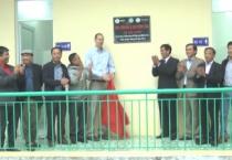 Ban Quản lý dự án rừng và đồng bằng Việt Nam nghiệm thu và bàn giao công trình nhà vệ sinh 2 tầng cho trường THCS xã Hải Châu huyện Hải Hậu.