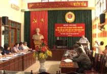 Ban thường vụ Hội CCB tỉnh tổ chức hội nghị gặp mặt các cơ quan tuyên truyền về Đại hội đại biểu Hội CCB tỉnh Nam Định lần thứ VI, nhiệm kỳ 2017- 2022.