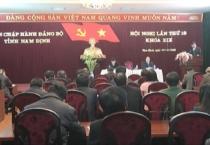 Ban thường vụ tỉnh ủy tổ chức Hội nghị Ban chấp hành Đảng bộ Tỉnh lần thứ 18.